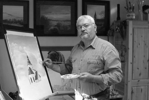 Bildermaler Bernd Aurig, Pöhsig (bei Grimma), Muldentalkreis